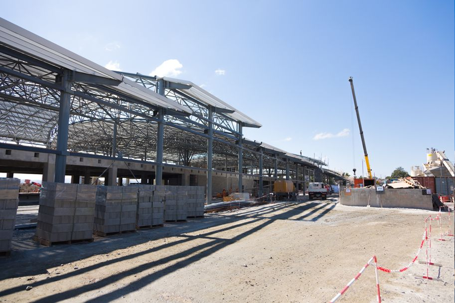 Nouveau terminal international Ivato Mai 2018
