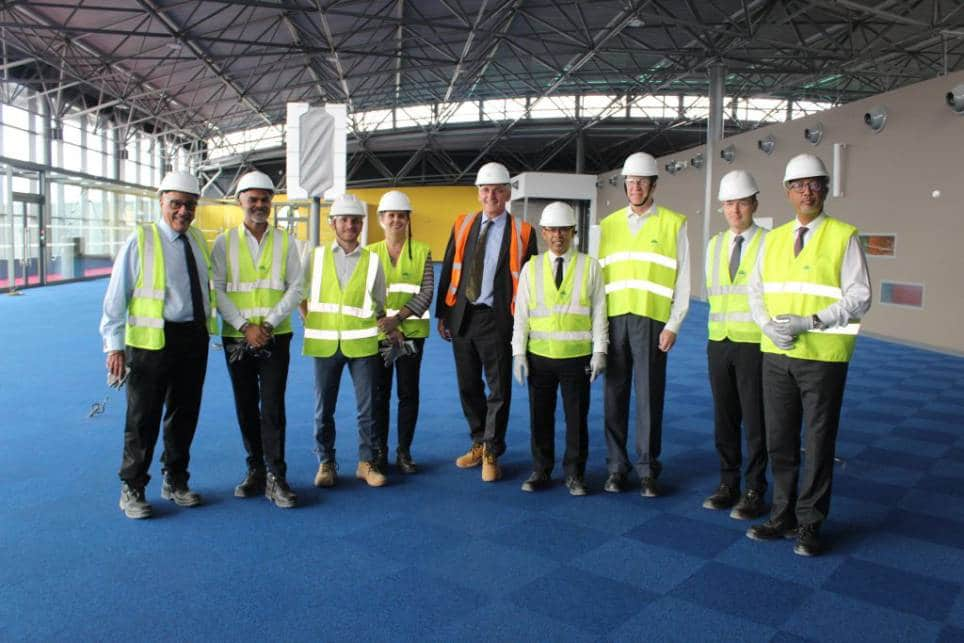 Visite du nouveau terminal international Ivato