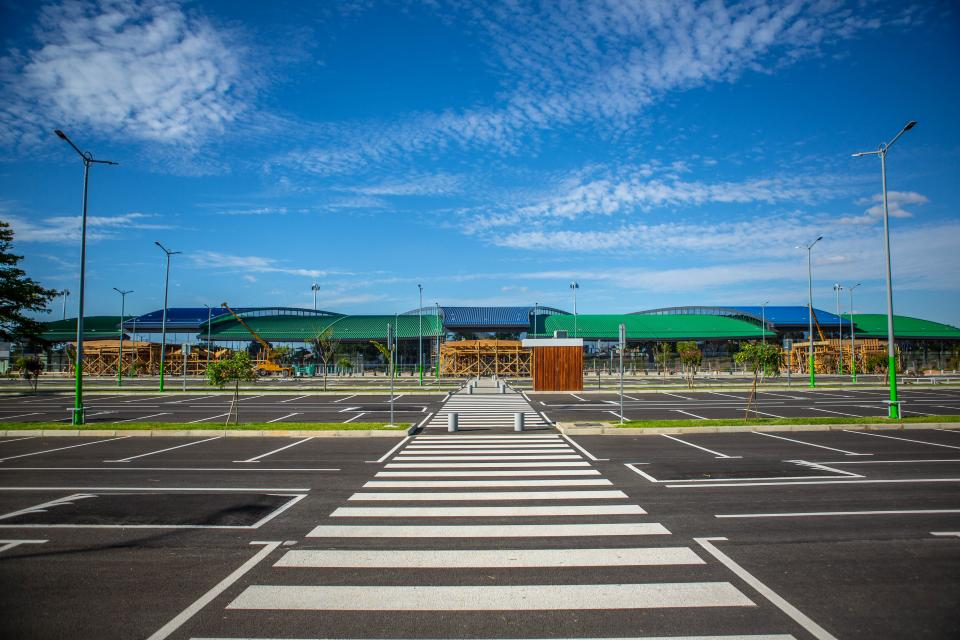 Nouveau terminal international Ivato Novembre 2019